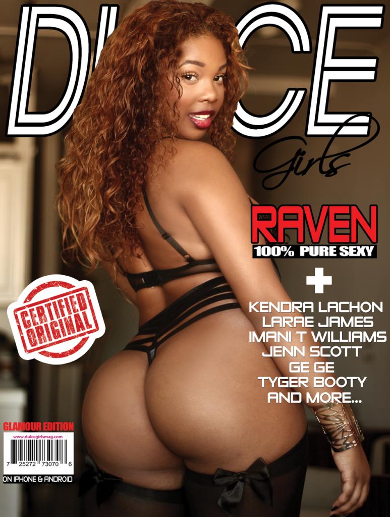 Model Raven Cover Girl Dulce Girls Magazine