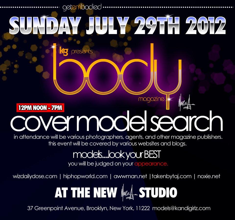 Body Magazine Casting promo