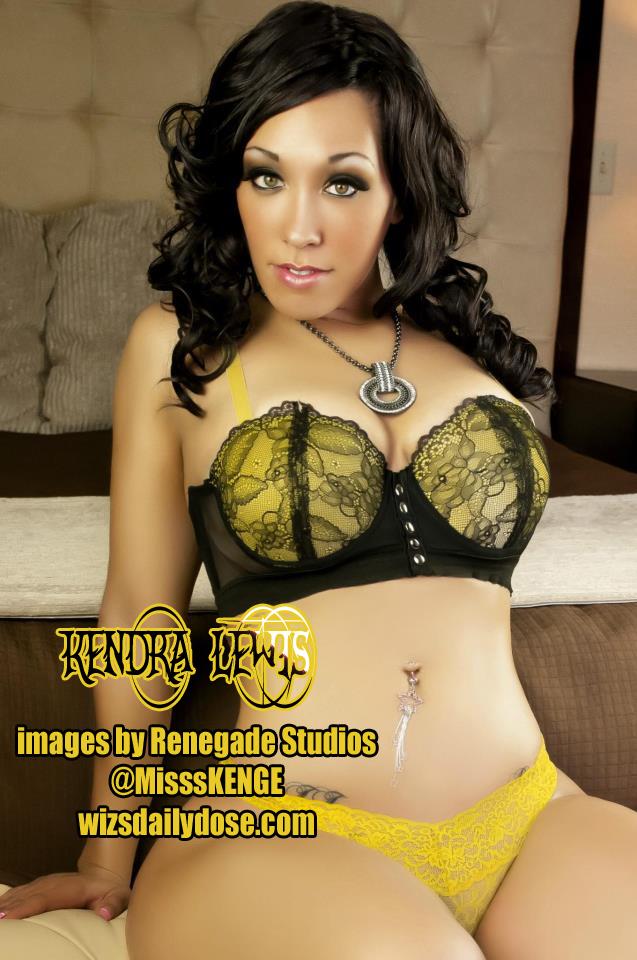 Kendra Lewis web promo aka Miss Kenge Renegade studios Photo