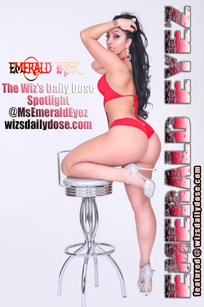 Jessica Emerald Eyez C.E. Wiley Web promo. thewizsdailydose