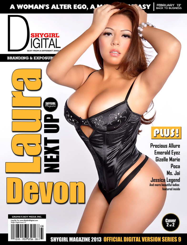Laura Devon Cover Main Shygirl Magazine.thewizsdailydose