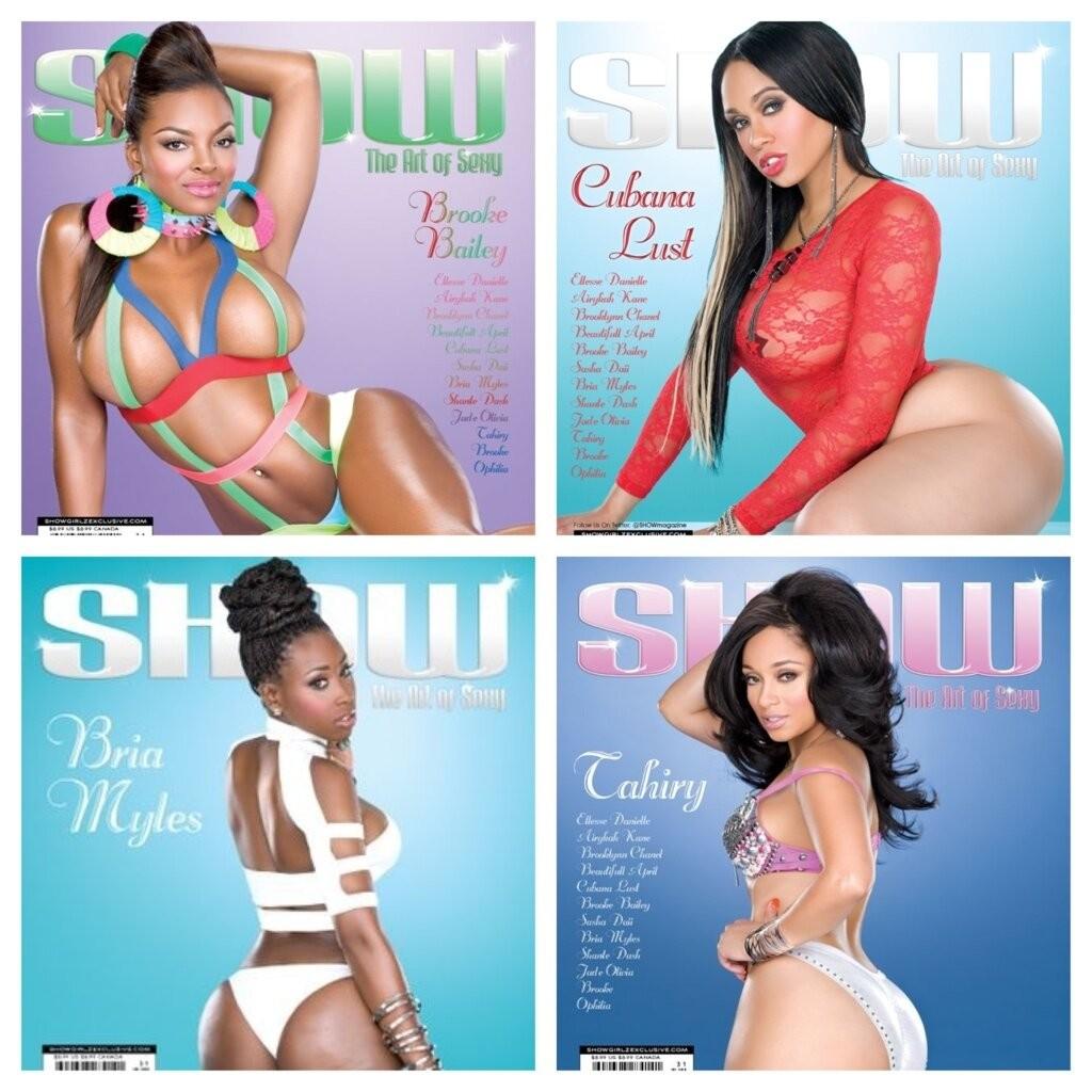 Tahiry Cubana Lust Brooke Bailey Bria Myles show magazine.thewizsdailydose