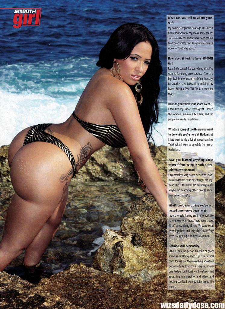 Stephanie Santiago3 Smooth Magazine.thewizsdailydose