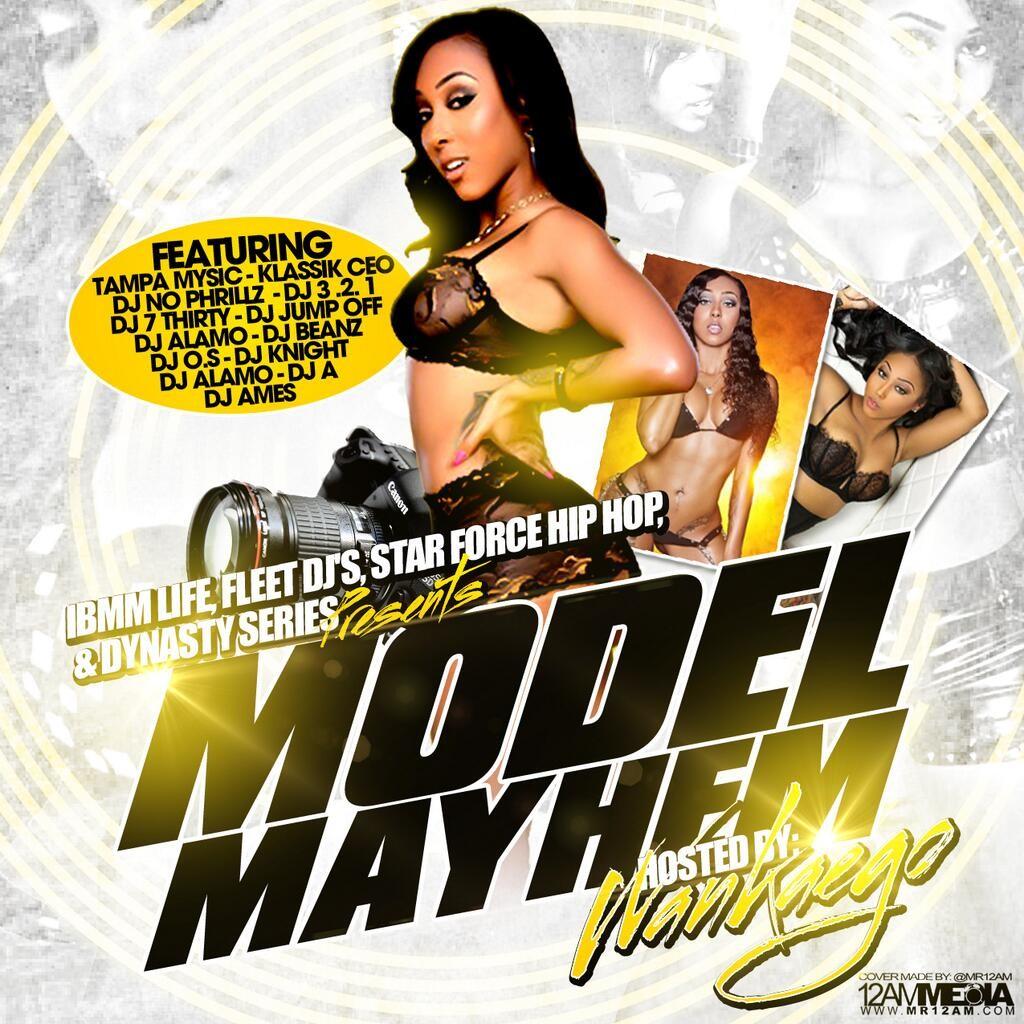 wankaego mixtape cover presented IBMM Modeling.thewizsdailydose