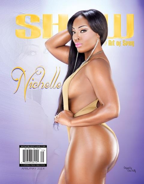 Nichelle d cover LA show magazine.thewizsdailydose