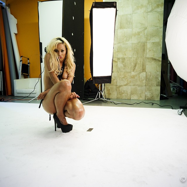 Kaylin Garcia - show magazine behind the scenes