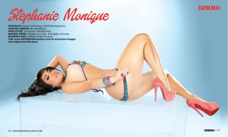 Stephanie Monique 002 show magazine